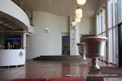 Tasting centre of JC le Roux.