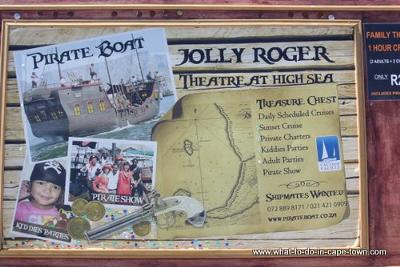 The Jolly Roger Pirate Boat, Cape Town