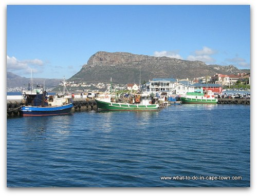 Harbour in Kalk Bay, Cape Town