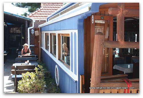 Eatery in Kalk Bay, Cape Town