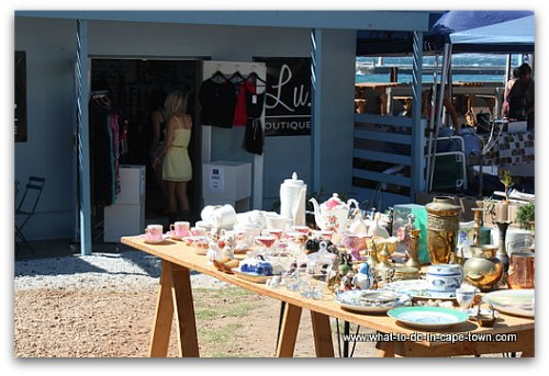 Craft Market in Kalk Bay, Cape Town