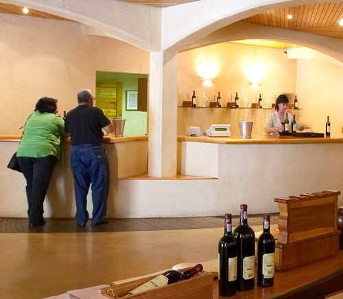 Tasting Room at Kanonkop Wine Estate
