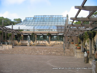 The Botanical Society Conservatory at Kirstenbosch National Botanical Garden