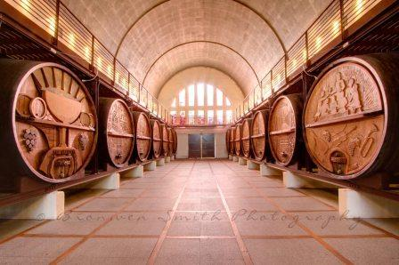 Cathedral Cellar at KWV Wine Emporium, Paarl Wine Route