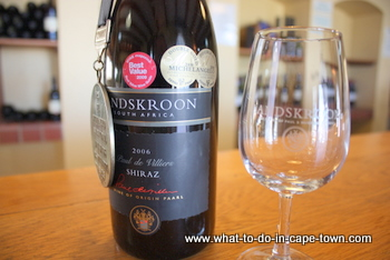 Shiraz, Landskroon Estate, Paarl Wine Route, Cape Town
