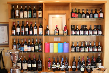 Trophy Cabinet, Landskroon Estate, Paarl Wine Route, Cape Town