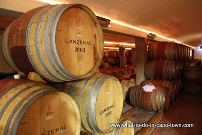 Lanzerac Estate Cellar