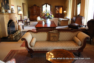 The Craven Lounge at Lanzerac Estate