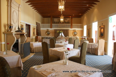 Governors Hall Restaurant at Lanzerac Estate