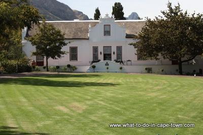 Manor at Lanzerac Estate
