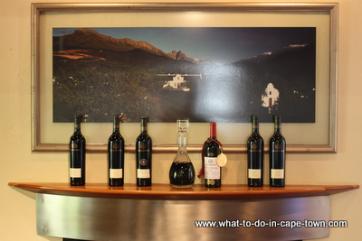 Award-winning wines at