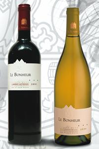 Le Bonheur wines