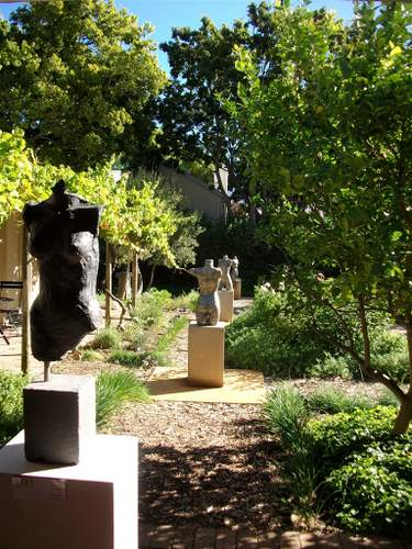The Indigenous and Unusual Herb & Sculpture Garden, Le Quartier Francais, Franschhoek, Cape Town