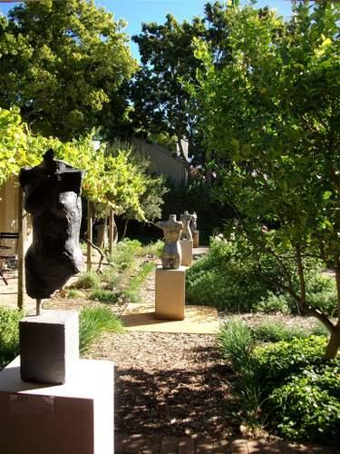 The Indigenous and Unusual Herb & Sculpture Garden, Le Quartier Francais, Franschhoek, Cape Town