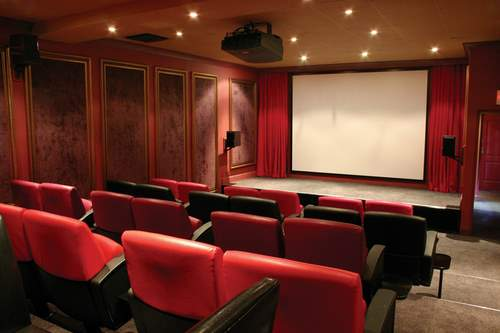 Movie Room at Le Quartier Francais in Franschhoek