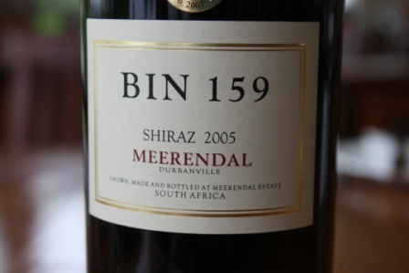 Meerendal Estate, Durbanville Wine Rout