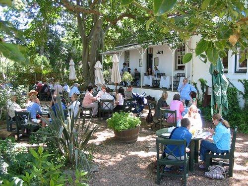 The Gardener's Cottage Restaurant at Montebello Design Centre.