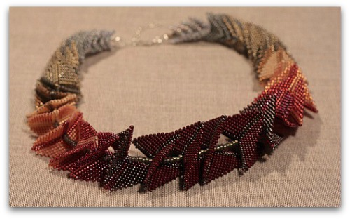 Beloved Beadwork produces intricate, beautiful pieces of wearable beadwork, Montebello Design Centre