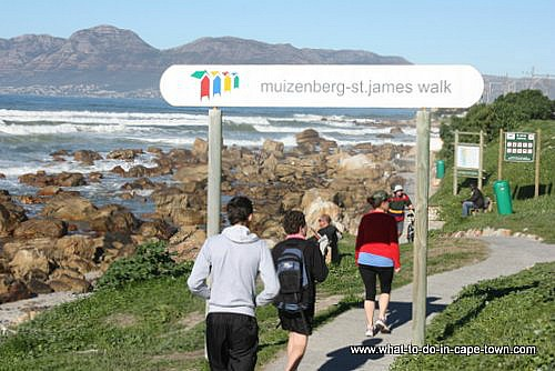 Cape Town Walks - Muizenberg to  St. James Walk