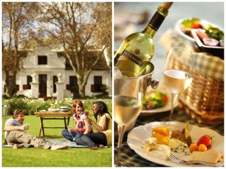 Picnic at Nederburg Wine Estate, Paarl