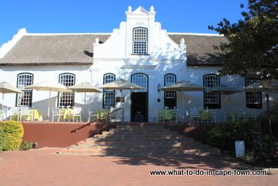 Lord Neethling Restaurant at Neethlingshof Estate, Stellenbosch