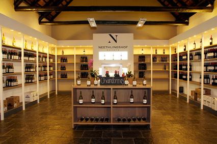 Wine shop at Neethlingshof Estate, Stellenbosch