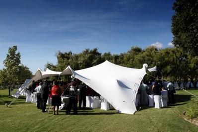 Permanent Bedouin tent