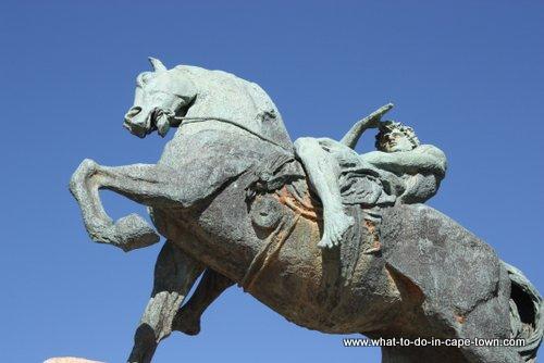 Statue of Energy at Rhodes Memorial