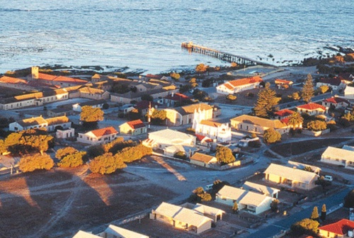 Faure Jetty at Robben Island, Cape Town