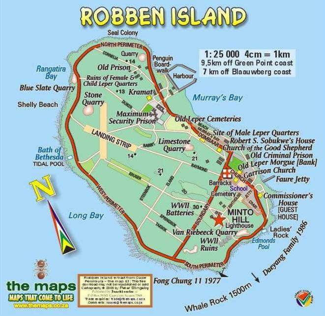 Talking Island Map