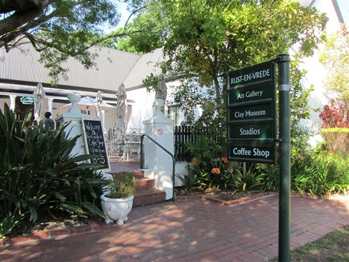 Rust-en-Vrede Art Cafe, Rust en Vrede Art Gallery and Clay Museum, Cape Town Museum, Cape Town