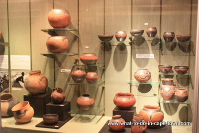 Utility Ceramics Display, Sasol Art Museum / US Art Museum, Stellenbosch, Cape Town