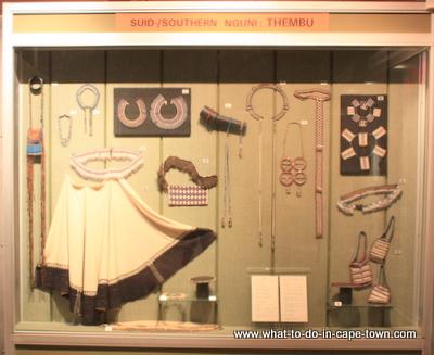 Nguni Display, Sasol Art Museum / US Art Museum, Stellenbosch, Cape Town