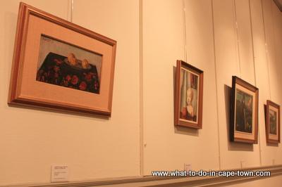 Paintings, Sasol Art Museum / US Art Museum, Stellenbosch, Cape Town