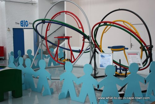 The human gyroscope at Cape Town Science Centre