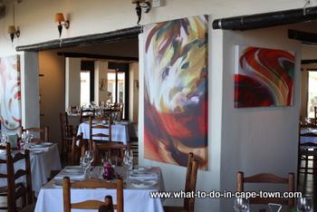 De Leuwen Jagt Restaurant, Seidelberg Wine Estate, Paarl Wine Route, Cape Town