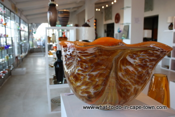 Red Hot Glass Gallery, Seidelberg Wine Estate, Paarl Wine Route, Cape Town