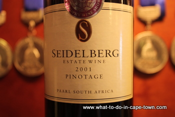 Pinotage, Seidelberg Wine Estate, Paarl Wine Route, Cape Town
