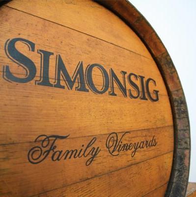 Simonsig wine