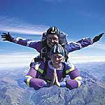 Skydiving, Cape Town