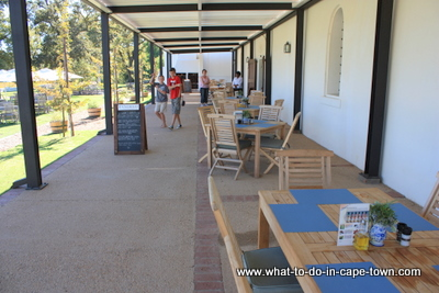 Fyndraai Restaurant at Solms Delta Wine Estate