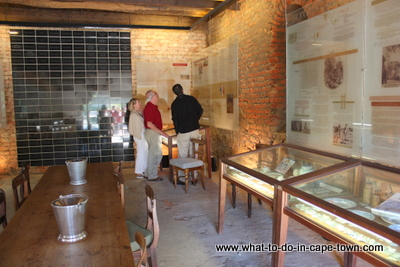 Museum van de Caab at Solms Delta Wine Estate