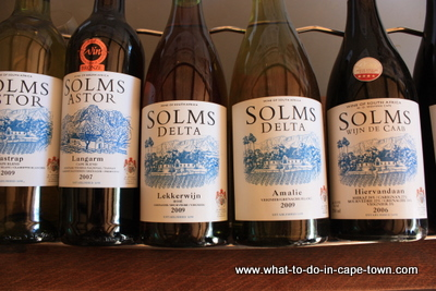Solms Delta Wine Estate Wine