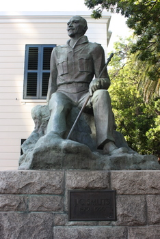Jan Christiaan Smuts, Cape Town Statues