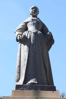 Maria de la Queillerie, Cape Town Statues