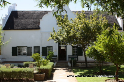 Blettermanhuis, Stellenbosch Village Museum