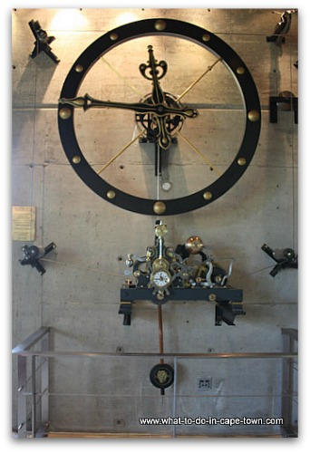 French Turret Clock at Tokara Winery, Stellenbosch Wine Route