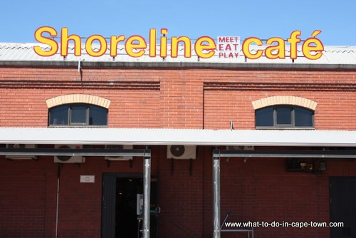 Shoreline Cafe at Two Oceans Aquarium, Cape Town