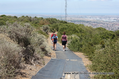 Wheelchair-friendly walk in Tygerberg Nature Reserve