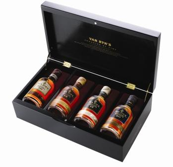 200ml Brandy gift pack from Van Ryn Brandy Distillery, Stellenbosch